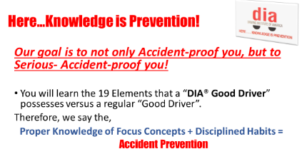 Accident Prevention in Leander, TX